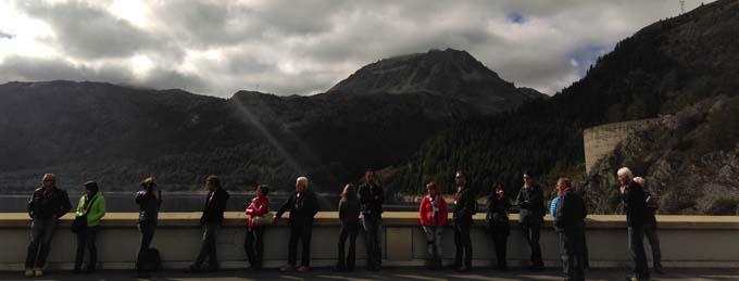 Journées Européennes du Patrimoine au barrage de Tignes 3 - © EDF - UP Alpes