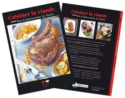 Livre Cuisiner la viande avec les Compagnons du Goût