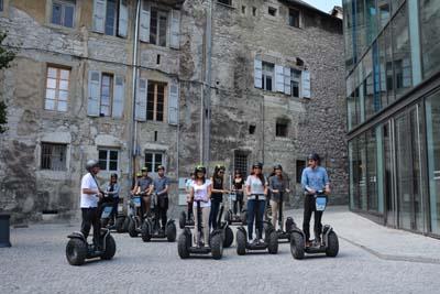 Visite de Chambéry en segway - © Sergio Palumbo - 123 Savoie