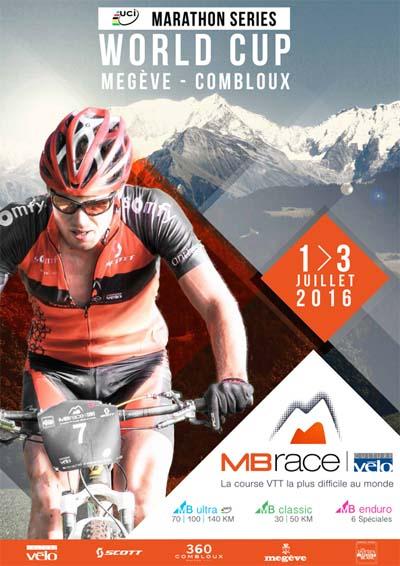 Affiche Coupe du Monde UCI Marathons Series 2016