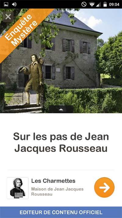 Appli Jean-Jacques Rousseau