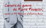Carnets de guerre de Pierre Pasquier