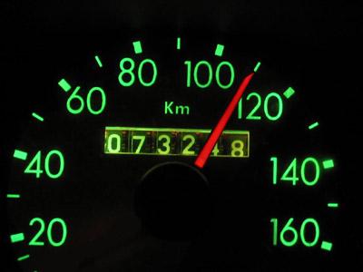 Compteur 110 Km/h