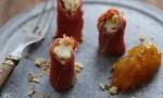 Petits rouleaux de Reblochon aux noix et au jambon cru - © SIR - Anne Desplancke