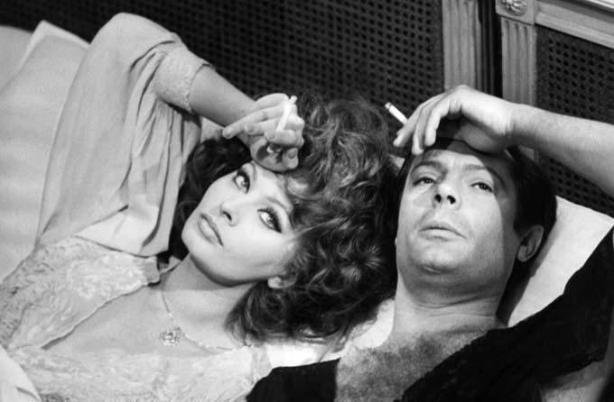 Sofia Loren et Marcello Mastroianni - © Carlotta Films
