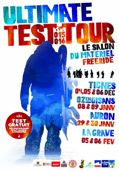 Affiche L'Ultimate Test Tour 2015 - 2016