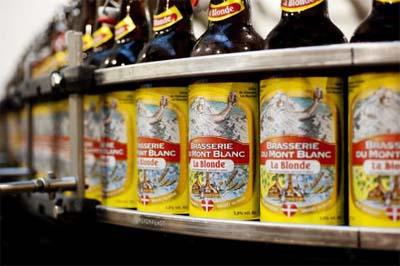 Bière Brasserie du Mont Blanc