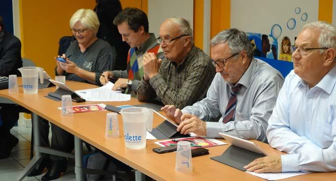 Chambéry métropole, lles élus au numérique