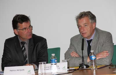 Patrice Jacquin et Hervé Gaymard