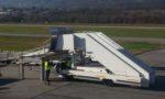 Une maquette de fuselage d'avion livrée à Voglans