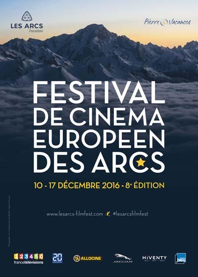 Affiche Le Festival de Cinéma Européen des Arcs 2016