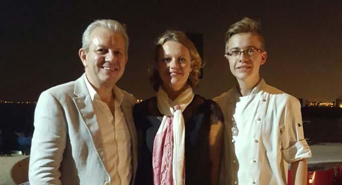 Laurent Rigaud, Alice Jiguet et Jordan Vignal