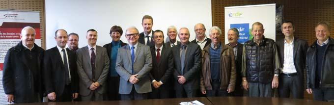 Signature convention, ERDF, Syane et Orange