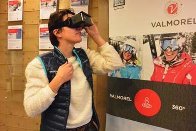 Digital appli réalité virtuelle Valmorel