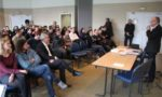 Luc Berthoud a présenté les vœux aux créateurs de la Base d'Incubation