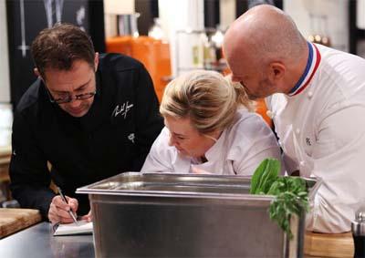 Michel Sarran, Hélène Darroze et Philippe Etchebest