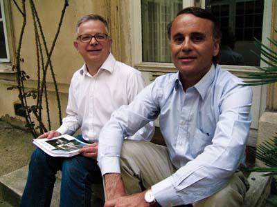 Jean-Paul Labourdette et Dominique Auzias