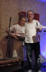 Premier prix Adolescents Chloe Hoss avec son gâteau A la montagne - Savoyards Emirats
