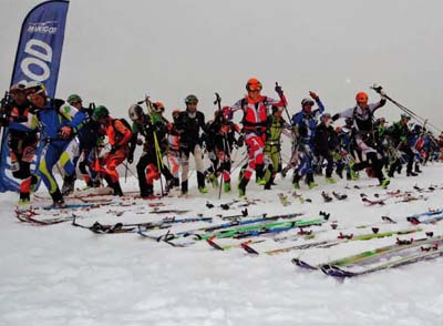Ski alpinisme & trail de Thônes