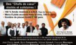 Affiche Des Chefs de cœur étoilés et solidaires