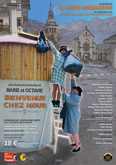 Affiche Marie & Octavie - Le Grand-Bornand