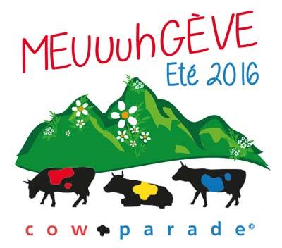 Logo 2016 Cow parade à Megève