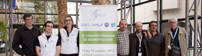 Organisation du 15ème congres des sédimentologistes français - © USMB