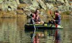 Prélèvement sur site - suivi lac RN 74 - © Geoffrey Garcel