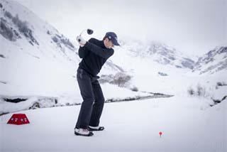 Val d'Isère Winter Golf 1