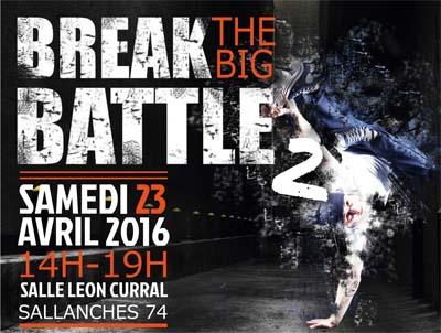 Break the big battle à Sallanches