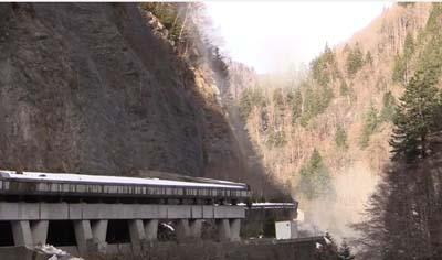 Les gorges du Val d'Arly