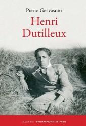 Henri Dutilleux, par Pierre Gervasoni