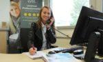 Audrey Saint-Marcel, étudiante à l'IUT de Chambéry finalise, avec l'équipe pédagogique, la préparation des deux journées de l'Emploi du Commerce BtoB qui réuniront de nombreuses entreprises des Pays de Savoie