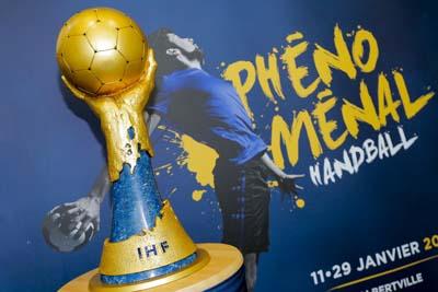 Trophy at Mondial 2017 - Trophée Phénoménal Handball 2017 Stephane Allaman / DPPI