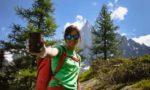 Nina Caprez - nettoyage de la montagne