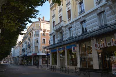 Un relooking pour le boulevard de la colonne 123 savoie for Projet chambery