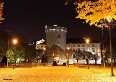 Expo Château des Ducs de Savoie nuit - © Michel Foriel