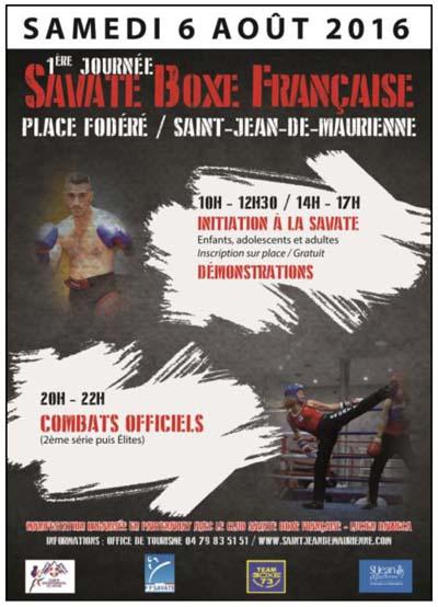 Journée Savate Boxe Française
