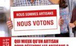 Affiche Elections aux chambres de métiers et de l'artisanat