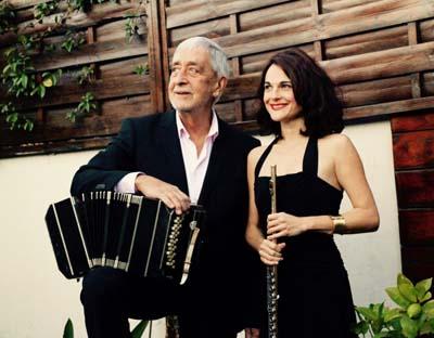 Juan José Mosalini et Nathalie Grouet