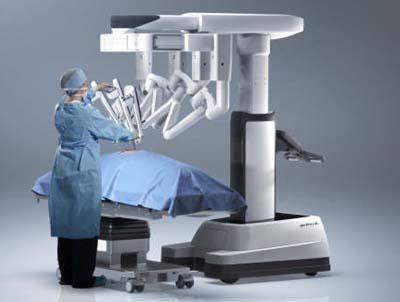 Le robot chirurgical da Vinci