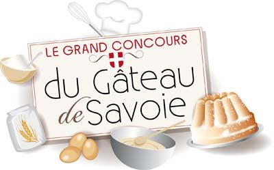 Logo Concours du Gâteau de Savoie