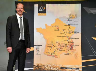 Christian Prudhomme, Directeur du Cyclisme d'A.S.O. © ASO - B. Bade