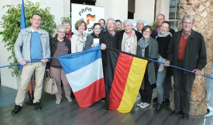 Les deux Comités d'Albstadt et Chambéry se sont retrouvés dans une chaleureuse amitié lors du Congrès