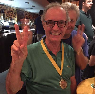 Philippe Tardieu et sa medaille d' or