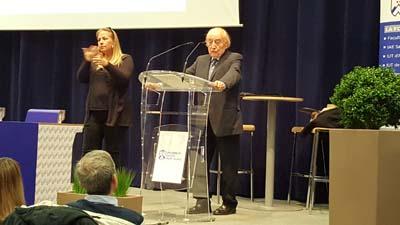 Jean Burgos Fondateur du CNFEDS et ancien president de l'Universite Savoie - © CNFEDS