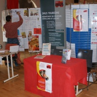 stand de l'IMUS, section tourisme
