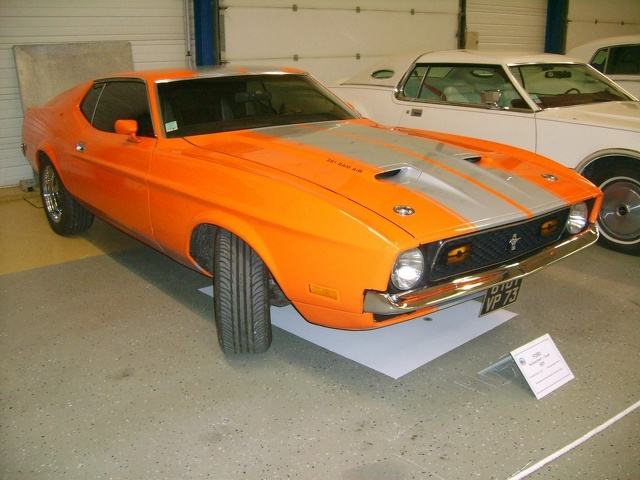 1971- Ford Mustang coupé