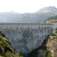 Barrage de Tignes - Lac du Chevril
