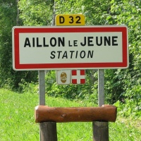 Les Aillons - station